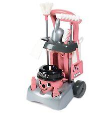 Casdon Hetty Deluxe carrello Pulizie con marchio Finta Vacuum Floor Cleaner Rosa