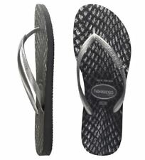 Havaianas Slim Flip Flops Sandals Women Slim Snake Skin 41-42 BR 43-44 EU 9 US