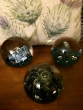 More details for caithness glass colin terris 3 paperweights quicksilver sea dance and north sea