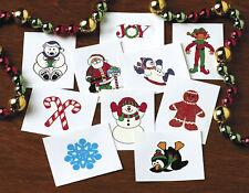 36 con Purpurina Vacaciones Tatuajes Calcetines Navidad Embutidora OSO POLAR