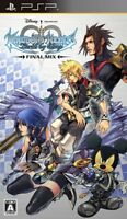 USED PSP Kingdom Hearts: Birth by Sleep Final Mix Japan Import game soft