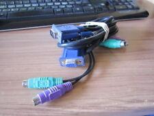 CABLES PIEUVRE OCTOPUS CABLE KVM SWITCH VGA PS/2 SOURIS CLAVIER ECRAN