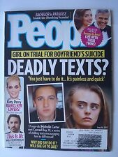 People Magazine Jun 26 2017, Deadly Texts, Katy Perry, Gearge & Amal, Ventimigli