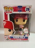 Funko Pop MLB Philadelphia Phillies Aaron Nola #29 Vinyl Figure