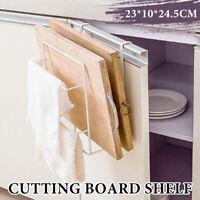 Cutting Board Pot Cover Lid Holder Kitchen Shelf Storage Rack Organizer Tool