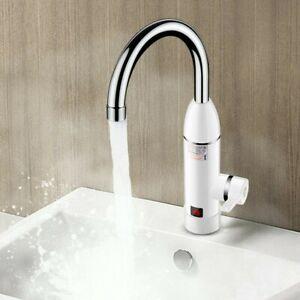3000W LED Elektrisch Durchlauferhitzer Wasserhahn Sofort Warm Küchearmatur DHL