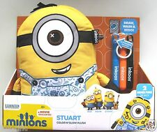 INKOOS MINIONS STUART - DRAW DESIGN DECORATE THEN WASH AND RE-DO! BRAND NEW!