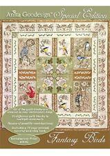 Anita Goodesign Embroidery Machine Design CD FANTASY BIRDS SPECIAL EDITION