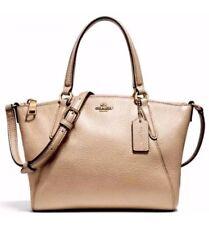 NWT Coach 28994 mini Kelsey Pebble Leather mini Satchel handbag Rosegold 5865ce511680e