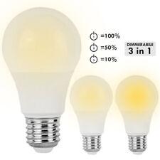 Lampadina LED 10W lampada dimmerabile 3 in 1 E27 806lm basso consumo resa 60W