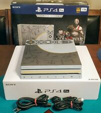 1tb PS4 Pro God of War Limited Edition Playstation *Console Only* FAST SHIPPING