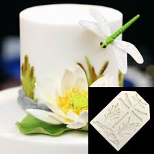 Silicone Dragonfly Grass Cake Border Decoration Candy Chocolate Fondant Mold