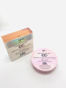 It Cosmetics Your Skin But Better CC Airbrush Perfecting Powder Illumination