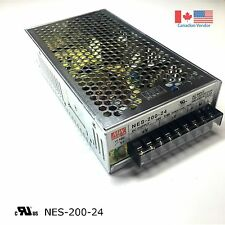 200W, 24V MEANWELL SWITCHING POWER SUPPLY NES-200-24