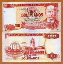 Bolivia, 100 Bolivianos, L. 1986 (1993) P-213, Serie C, UNC