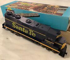 Vintage 1960s ATHEARN HO Scale Santa Fe GP35 Geared Lighted Train Set Loco, NICE