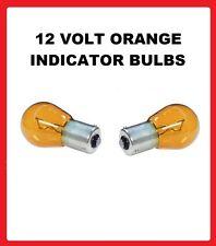 Seat Ibiza Front Indicator Orange Bulbs 2002-2005 FLASHER SIGNAL 12V 21W