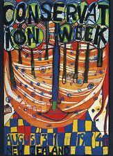 """Hundertwasser """"Conservation Week"""" 1974 Neuseeland"""
