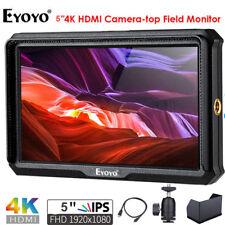 A5 5-inch 4K HD HDMI Camera Field Monitor 1920x1080 IPS For Canon 5D Nikon Sony