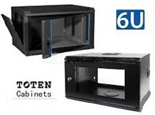 6ru wall mount network rack , data rack ,cabinet , audio visual ,Toten ,450deep