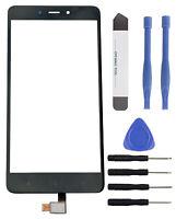 Touchscreen Scheibe Display Glas Digitizer Touch für Xiaomi Redmi Note 4 schwarz
