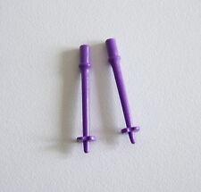 PLAYMOBIL (N3126) SPORT HIVER - Paire de Batons de Ski Violet pour Enfants