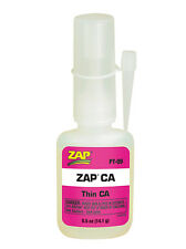 Zap Thin CA Glue (0.5oz) Hobby Model Traxxas Tire Glue PT-09