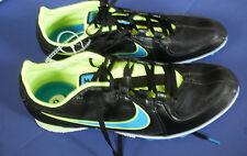 NIKE Track & Field~RIVAL MD~Black Blue Yellow Running Shoes~Men's 12~NEW