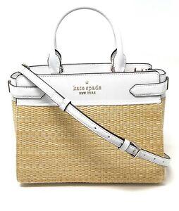 Kate Spade Staci Medium Satchel Leather Crossbody Handbag WKRU6951 $399