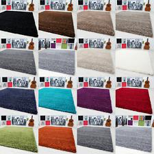 Teppiche Hochflor Shaggy für Wohnzimmer, Esszimmer. Gästezimmer mit 3 cm Florhöh