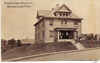 D74/ Ortonville Minnesota Mn Postcard c1910 Grand View Hospital Building