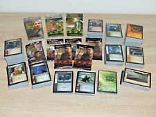 lord of the rings tcg herr der ringe sammelkarten konvolut starter decks booster