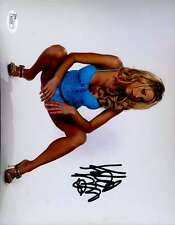 KATIE MORGAN JSA SIGNED 8X10 PHOTO AUTHENTICATED AUTOGRAPH
