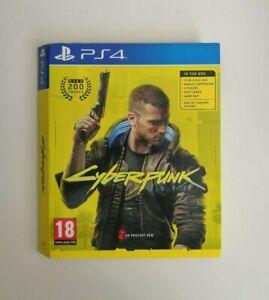 [Sleeve Only] Cyberpunk 2077 PS4