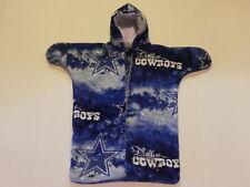 Nhm Nfl Dallas Cowboys Printed Fleece Baby Bunting Coat Newborn to 6 Months