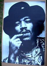 JIMI HENDRIX Classic Vintage Original Personality Shot Big Poster 1970 USA Mint-