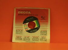 "BERT KAEMPFERT & HIS ORCHESTRA - SWEET CAROLINE / SOMETHING  - 7"" SINGLE 45 2"