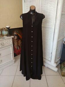 MELA PURDIE black Trapeze Maxi dress s12-14 ~ Prefect preloved condition rrp$459