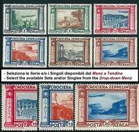 * Italia 1933: ZEPPELIN Crociera Posta Aerea [6 valori] Serie e Singoli