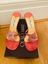 Jimmy Choo pink star sandals size EU 37,5 UK 4.5 good condition with box