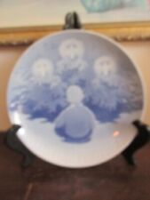 B&G Bing & Grondahl Denmark Porcelain Christmas Plate 1909