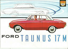 Ford taunus 17m-p3 - 1961 french-swiss?/catalogue brochure prospekt