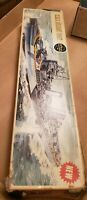 H.M.S. Belfast 600th Scale Model ship Kit #04212-3 sealed parts no instructions