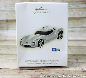2009 Chevrolet Corvette StingRay Concept Hallmark Keepsake Ornament