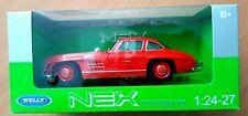 Welly Mercedes Benz 300 SL Car Red 1/24