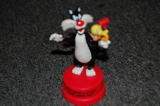 "Looney Tunes Sylvester & Tweety Figure '94 Cake Topper ""How about a Wuddle Cake"""
