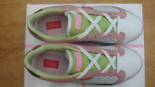Lace Up, Whites and leather Comfort womens ice cherry Pastry Lo trainers UK 4.5