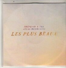 (DB678) Francois & The Atlas Mountains, Les Plus Beaux - 2011 DJ CD