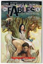 FABLES 1 Promo, NM+, Bill Willingham, Fairy Tales, Vertigo, 2002