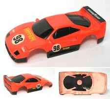 1991 TYCO Ferrari #98  F-40 Slot Car BODY RARE 6464 V.2